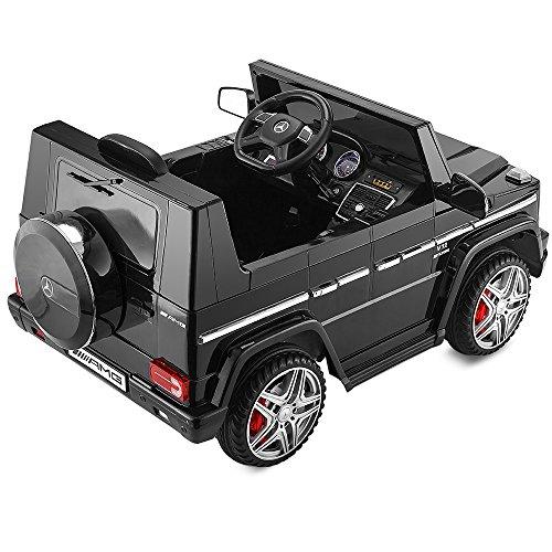Playkin- Mercedes-Benz 4X4 G65 Negro Coche Infantil de batería, Color AMG