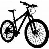 tzxdbh New Fasion Bike Wall Sticker Big Mountain Bike Silhouette Murale Art Vinyl Decalcomania della Parete Bike Shop Decor Camera da Letto Decorazione della Casa 58 * 58Com
