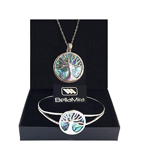 abalone-tree-of-life-pendant-silver-plated-necklace-and-bangle-set-inlaid-w-blue-green-shades-of-nat