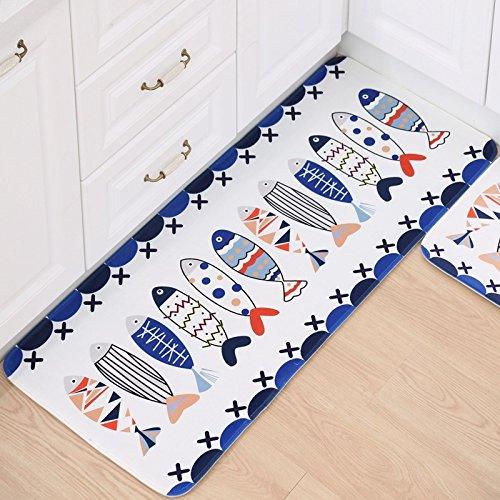 Indio, 500mmx1200mm: patrón alfombra para sala de estar largo kitchen Rugs franela...