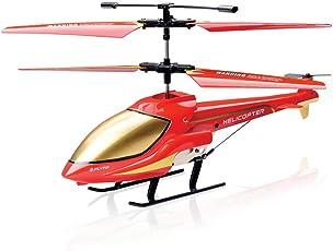 GoStock Hubschrauber Ferngesteuert, RC Helikopter Hubschrauber Drohne Flugzeug Innen 3.5 Kanäle mit Gyro und LED Licht für Einsteiger Geschenk für Kinder