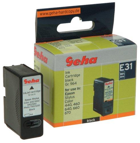Geha Tintenpatrone für Epson ersetzt Nr. T0501 schwarz