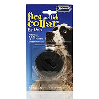 johnsons flea and tick collar for dogs (2 collars) Johnsons Flea and Tick Collar for Dogs (2 Collars) 51CSU0QrcxL