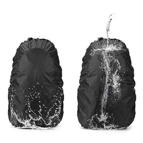 Dricar 2 Stück Rucksackcover Regenhülle Regenschutz Qualitäts Camping Wandern Rucksack Wasserdichte Regenschutz (35L plus 45L Zwei in Einem)