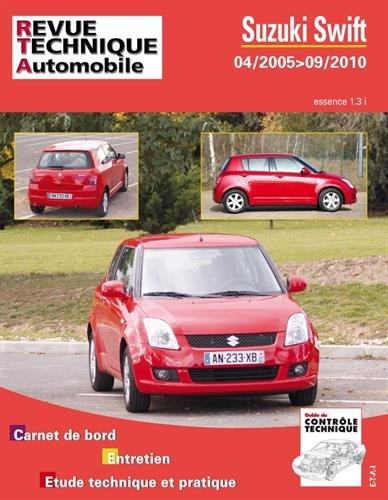 Suzuki Swift essence 1.3i 04/2005 > 09/2010 par Revue technique automobile