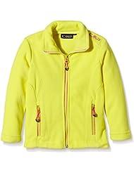 CMPF.lli Campagnolo - Chaqueta polar para niña, todo el año, niña, color amarillo, tamaño 10 años (140 cm)