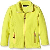 CMP - Chaqueta polar para niña, todo el año, niña, color amarillo, tamaño 4 años (104 cm)