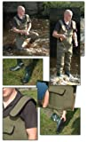 BISON 4MM NEOPRENE CHEST WADERS ALL SIZES WITH FREE MOBILE PHONE DRY BAG & STUDS