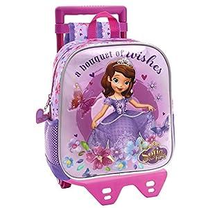 51CSX5v4B0L. SS300  - Disney 24120M1 Sofia Wishes Mochila Infantil, 5.75 Litros, Color Morado