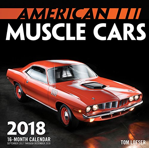 American Muscle Cars Mini 2018: 16 Month Calendar Includes September 2017 Through December 2018 (Calendars 2018)