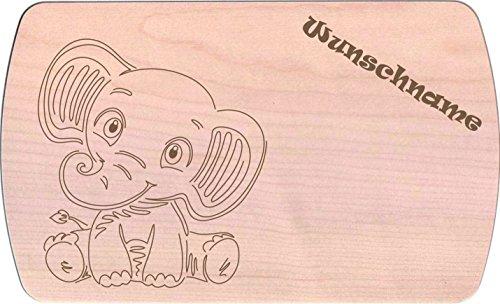 Farbklecks-Collection Frühstücksbrettchen - Baby Afrika Freunde 2