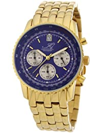 Ingraham Herren-Armbanduhr XL Adelaide Chronograph Quarz Edelstahl beschichtet IG ADEL.1.612205