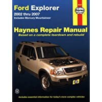 Haynes Ford Explorer And Mercury Mountaineer Automotive Repair Manual: Includes Mercury Mountaineer 2002 thru 2007