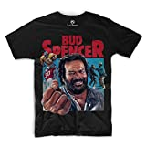 Bud Spencer - Comic Art - T-Shirt (schwarz) (M)