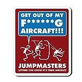 CafePress–jumpmasters–lo que te permite saber su su–antideslizante de goma alfombrilla de ratón, ratón para videojuegos