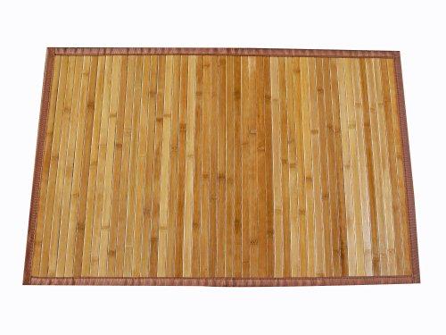 AVANTI TRENDSTORE - Tappeto in Bamboo Color Legno. ca. 160 x 230