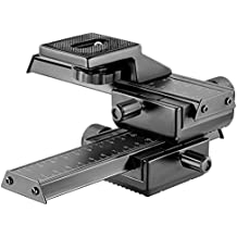 Neewer Pro 4 Way Macro Focusing Focus Rail Slider/Close-up Shooting for Digital SLR Camera