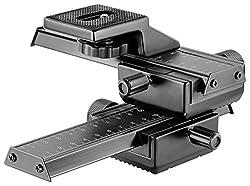 Neewer Pro 4 Wege Makro Fokussierung Fokusschiene Slider/Nahaufnahme für Canon Nikon Pentax Olympus Sony Samsung und andere digitale SLR Kamera und DC mit Standard 1/4 Zoll Schraubenloch