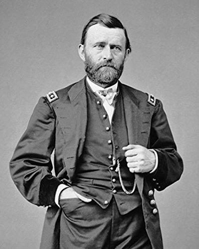 McMahan Photo Archive – Civil War Union General Ulysses S. Grant Portrait Poster Drucken (20,32 x 25,40 cm) (Ulysses S Grant Portrait)
