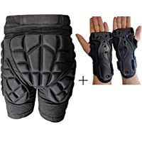MaMaison007 2,9 cm spessore sci sci Hip polso supporto della protezione del Palm sport protettivo (Arbitro Shorts)
