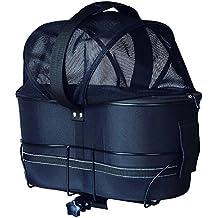 Trixie 13118–Bolsa para bicicleta, 29× 42× 48cm), color negro