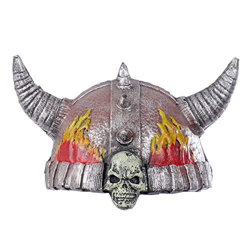 WASAIO Halloween Wikinger Krieger Helm Hut