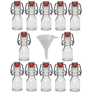 24 leere Glasflaschen 20ml Krug Glasfläschchen 20 ml mini