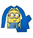 Minions Pyjama Langarm Kollektion 2016 (140, Blau Zwei Auge)