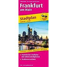 Frankfurt am Main: Touristischer Stadtplan mit Sehenswürdigkeiten und Straßenverzeichnis. 1:16000 (Stadtplan / SP)