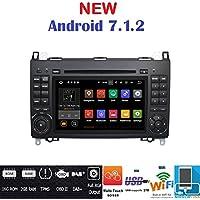 Android 7.1GPS DVD USB Radio 2Din navegador Mercedes Clase B W245/Clase A W169/Sprinter/Vito/Viano/B200/B150/B170/A180/A150/CRAFTER/LT3