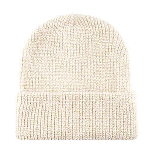 Unisex Herbst Winter Hatsfor Frauen Männer Strickmütze Winter Beanie Mütze Warm Stricken Skullies Caps Männer Wintermützen TMC127 @ Beige -