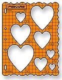 Fiskars - Plantilla de corazones