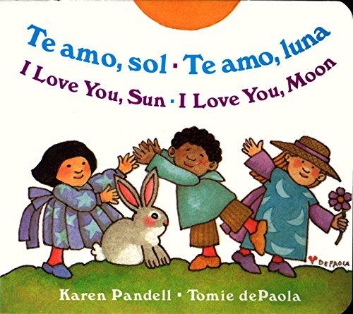 Te Amo, Sol-Te Amo, Luna/I Love You, Sun-I Love You, Moon por Karen Pandell