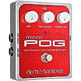 Electro-Harmonix Micro POG Octave Generator Guitar Effects Pedal