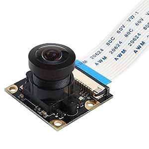 SainSmart Objectifs Grand Angle de la Caméra Fish-Eye pour Raspberry Pi Arduino