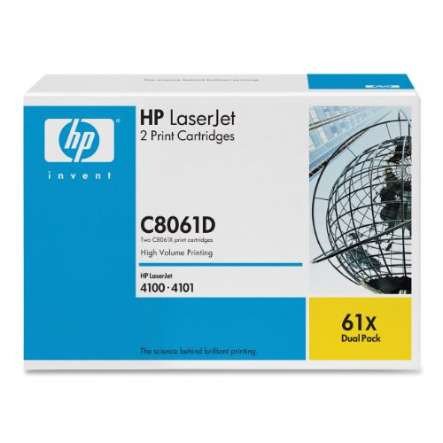 Preisvergleich Produktbild HP C8061X Druckpatrone schwarz Multipack (10.000 Seiten)