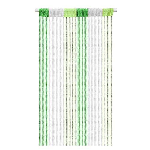AIZESI - Tenda a Fili Multicolore per Porta, zanzariera, divisorio o Finestra, 90 x 200 cm