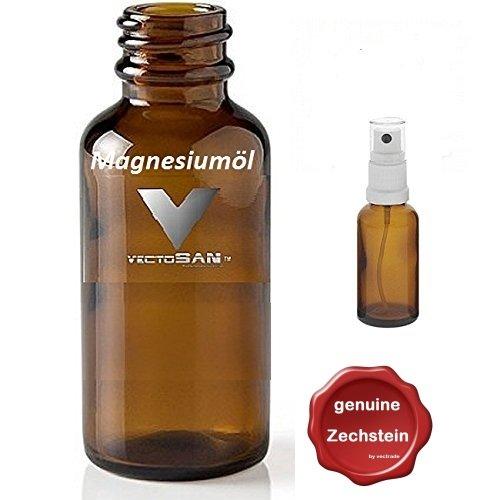 1000 ml vectosan® zech Pierre magnesiumöl de qualité premium + zusätzl. Vaporisateur