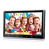 "Pumpkin CH1011B - DVD CD MP4 MP3 Pantalla Reproductor para Reposacabezas de Coche( 10.1"" HD Pantalla, Botón Tácil, USB, SD, HDMI ) Soporta Juegos / 1080p Vídeo / Home Use"