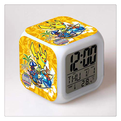 Tian Ran Dai Novedad Pokemon Pikachu Digital Alarm