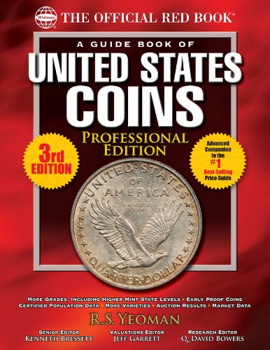 The Official Red Book: A Guide Book of United States Coins, Professional Edition (English Edition) -