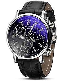 Scpink Reloj de Cuarzo para Hombre, Reloj de Pulsera de Moda Casual de