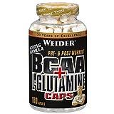 Weider BCAA + Glutamin, 1er Pack (1 x 180 Kapseln)