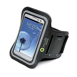 Muvit Brassard pour Samsung Galaxy S4/S3 Noir