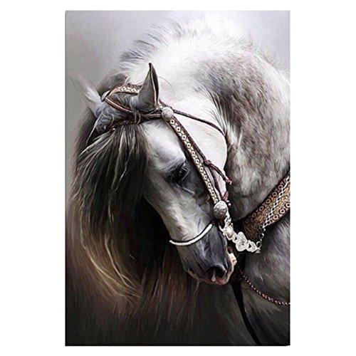 5D Diamant Pferd DIY Wanddeko Wandtattoo Diamant Stickerei Diamant Malerei Kreuzstich Kits Wandaufkleber Wandsticker