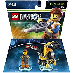 TT Games Lego Dimensions Fun Pack - Lego Movie: Emmet
