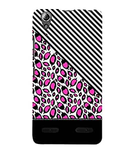 Pink Peacock Feathers 3D Hard Polycarbonate Designer Back Case Cover for Lenovo A6000 Plus