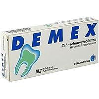 DEMEX Zahnschmerztabletten 20 stk preisvergleich bei billige-tabletten.eu