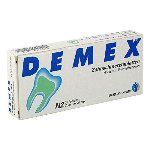 DEMEX Zahnschmerztablette 20 stk