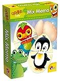 Lisciani Giochi 53360 - Carotina Baby Mix-Memo, Multicolore